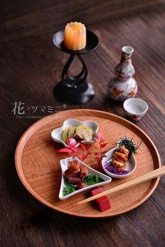 花ヲツマミニ   ●和食● Sushi Recipes, Asian Recipes, Gourmet Recipes, Japanese Dishes, Japanese Food, Asian Grill, Modern Food, Food Humor, Food Presentation