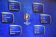 Euro 2016 Draw Features England To Face Wales See Dates Group Schedule Times Venues For Tournament In France