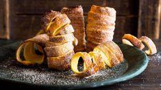 Baumstriezel French Toast, Bread, Breakfast, Mini, Vanilla, Food, Fire, Recipes, Aluminium Foil
