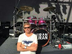 at the Bowl. Great Bands, Cool Bands, Roger Taylor Duran Duran, Amazing Songs, Guys, Concert, Twitter, Concerts, Sons