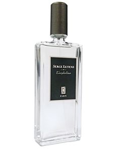 L'orpheline by Serge Lutens at Lucky Scent...L'orpheline Notes Aldehydes, cedar wood,  fougere accord, coumarin, clouds of ambergris, patchouli, incense, and Cashmeran