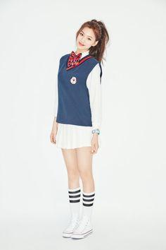 """IOI Release Beautiful Individual Photos for """"Chrysalis"""" K Pop, South Korean Girls, Korean Girl Groups, Girly Outfits, Fashion Outfits, School Uniform Fashion, Kim Doyeon, Jeon Somi, White Converse"""