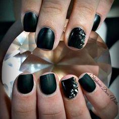 Black matte with stones | kimskie