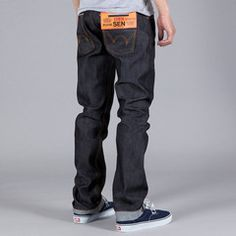 Edwin Selvage Jeans. Awesome.