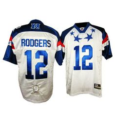2012 Pro Bowl Green Bay Packers #12 rodgers white jersey  ID:186  $20