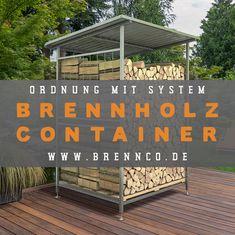 Dein BRENNCO Holzlager – Gestaltungselement für Haus und Garten. Home Decor, Lumber Storage, Home And Garden, Homemade Home Decor, Decoration Home, Interior Decorating