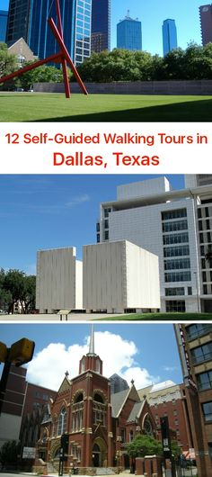 GPSmyCity: Self-Guided Walking Tours in Cities Worldwide Texas Travel, Travel Usa, Places To Travel, Travel Destinations, Dallas Museums, Popular Tv Series, Modern City, City Art, Walking Tour