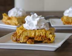 "Pumpkin Cheesecake Squares | ""Oh my goodness gracious. This dessert is freaking LETHAL. """