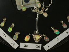 Opal Necklaces SEE VIDEO 26 Solid Ethiopian Welo by AmyKJewels