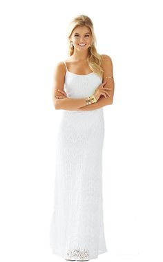 The Avalon knit lace maxi dress is the ultimate resort maxi dress. Wear this for dinner or a party on the beach. No shoes required.