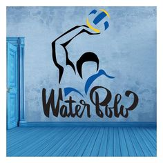 Decorative vinyl stickers and stickers water polo Kids Sports Party, Waterpolo, Water Polo Players, All About Water, World Map Wallpaper, Swim Mom, Beach Hacks, Swimming Diving, Sports Graphics