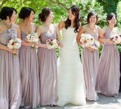 lavender bridesmaid dresses perfect for a spring affair