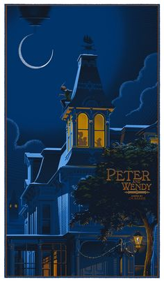 """Peter Pan (Peter and Wendy)"" by Laurent Durieux. (vía durieux-Peter-Pan-Peter-and-Wendy. Disney Pixar, Disney And Dreamworks, Disney Art, Disney Songs, Disney Quotes, Disney Characters, Walt Disney, Disney Love, Disney Magic"