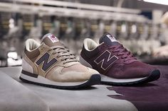 New Balance are ducking back to the age of shoulder pads and hair metal, bringing us a true to form 770, Made in England with plush suede and mesh.