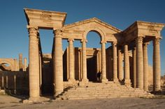 Ancient City Defied Rome, Now Faces Threat of Islamic State