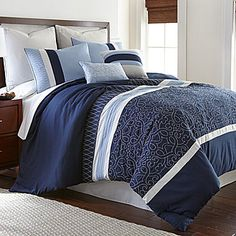 jcp | Ivory Gate Embroidered 8-pc. Comforter Set