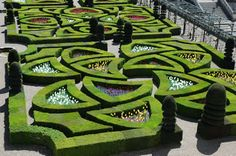 Villandry's historic gardens! (it's so French!)