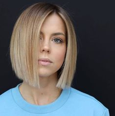 Best Bob Haircuts, Bob Hairstyles For Fine Hair, Hairstyles Haircuts, Trendy Hairstyles, Wedding Hairstyles, Evening Hairstyles, Modern Haircuts, Layered Hairstyle, School Hairstyles