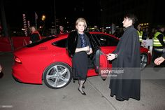 Actress Catherine Deneuve attends the 'In the Courtyard' (Dans la Cour) premiere during 64th Berlinale International Film Festival at Friedrichstadt-Palast on February 11, 2014 in Berlin, Germany.
