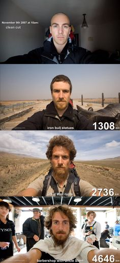 10 Stunning Time-lapse Self Portraits