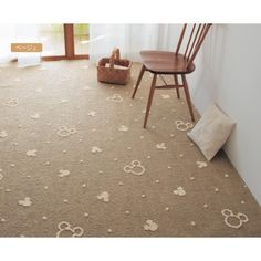 Mickey Disney Actual Carpet - Japan. Ummm, would this be too much, if I wanted this in my house?