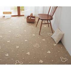 Mickey Disney Actual Carpet - Japan