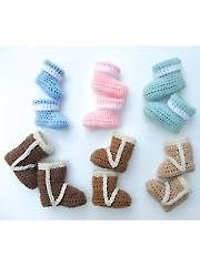 Seasonal Baby Booties