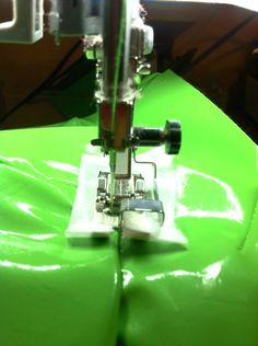 Tips for Sewing Vinyl.. Will come in handy when my Husband makes me redo the inside of his truck!! ... Eventually
