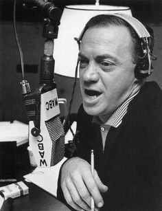 Alan Freed - first to play Rock'N'Roll on radio and coined the phrase - Rock'N'Roll.