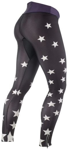 Ana Nichoola 2013 Women's Star Tights, Black, Women's Cycle Tights | f riders inc