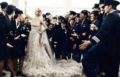 """Wedding Belles""   Vogue UK, May 2011  photographer: Mario Testino   Madelene de la Motte, Irina Berezina"