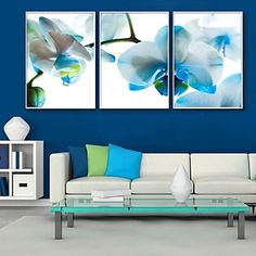 Do you think I should buy it? Framed Canvas Prints, Canvas Frame, Framed Wall Art, Canvas Art, Multi Canvas Painting, Diy Painting, Triptych Art, Arte Floral, Frames