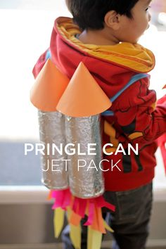 Upcycled Pringle Can Jet Pack (How-To)