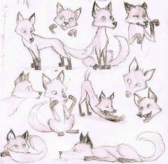 Foxes by CaptBexx.deviantart.com on @DeviantArt