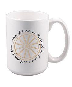 db393e8a031 North Carolina Wagon Wheel Mug by OakCityCollection on Etsy Wagon Wheel  Song, White Ceramics,
