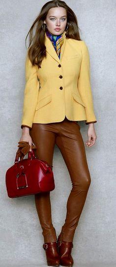 Elbow-Patch Wool-Alpaca Jacket - Jackets   Women - RalphLauren.com