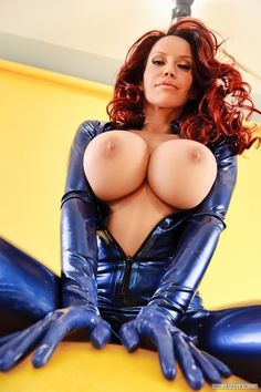 Thumb Nude Redhead Babe Bianca Beauchamp With Large Areolas Wearing Platform Heels