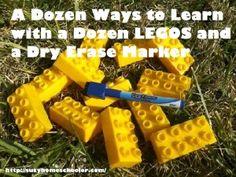 A Dozen Ways to Learn with a Dozen LEGOS, Suzy Homeschooler (1)