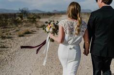 Eclectic West Texas Destination Wedding at the Marathon Motel