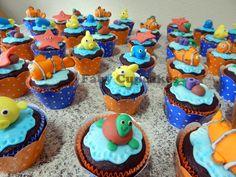 Cupcake Procurando Nemo