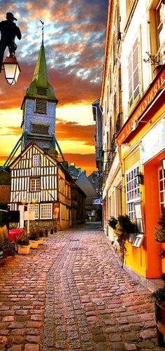 Travelling - Honfleur, Normandy, France