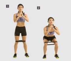 Squats For Reduce Hips Fat and Belly Fat