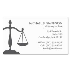 Attorneys Business Card Pasoevolistco - Lawyer business card template