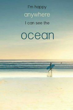 Famous Summer Quotes and Carefree Summer Images - Surfing - Playa Beach, Ocean Beach, Beach Bum, The Ocean, Ocean Art, Summer Beach, Ocean Quotes, Beach Quotes, Ocean Sayings