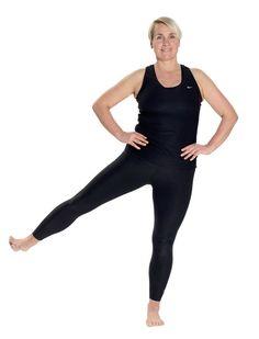 Kom i super form: Nemt træningsprogram, der kun tager 12 minutter Senior Fitness, Yoga Fitness, Health Fitness, Fitness Routines, Bikini Fitness, Keep Fit, Stay Fit, Live Fit, Circuit Training