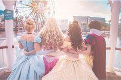 Princesses at Disneyland California Adventure