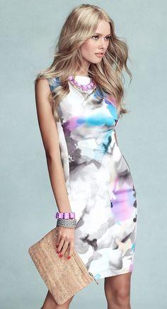 es un vestido para toda ocasion en verano, muy cómodo, lindo