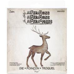 "Free Shipping. Buy Sizzix Bigz Die By Tim Holtz 5.5""x6""-prancing Deer at Walmart.com"