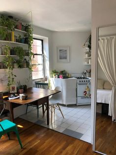 Home Interior, Interior Design, Appartement Design, Aesthetic Rooms, Decoration Design, Apartment Living, Girl Apartment Decor, Studio Apartment Design, Apartment Kitchen