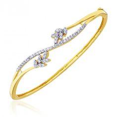Cuzibox Exquisite CZ White Women's Kada  #bangles #fashion #style #jewellery #sale #discount #onlineshopping